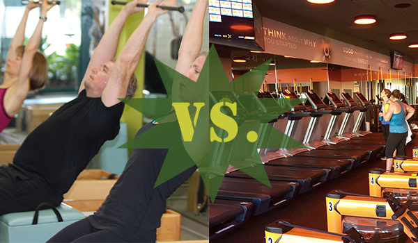FITNESS THROWDOWN IV: PILATES VS. ORANGETHEORY