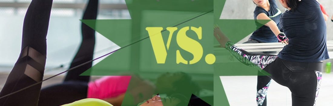 Fitness Throwdown II: Pilates vs. Barre