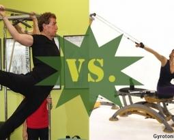 Fitness Throwdown IV: Pilates VS. Gyrokinesis