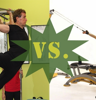 Fitness Throwdown IV: Pilates VS. Gyrokinesis